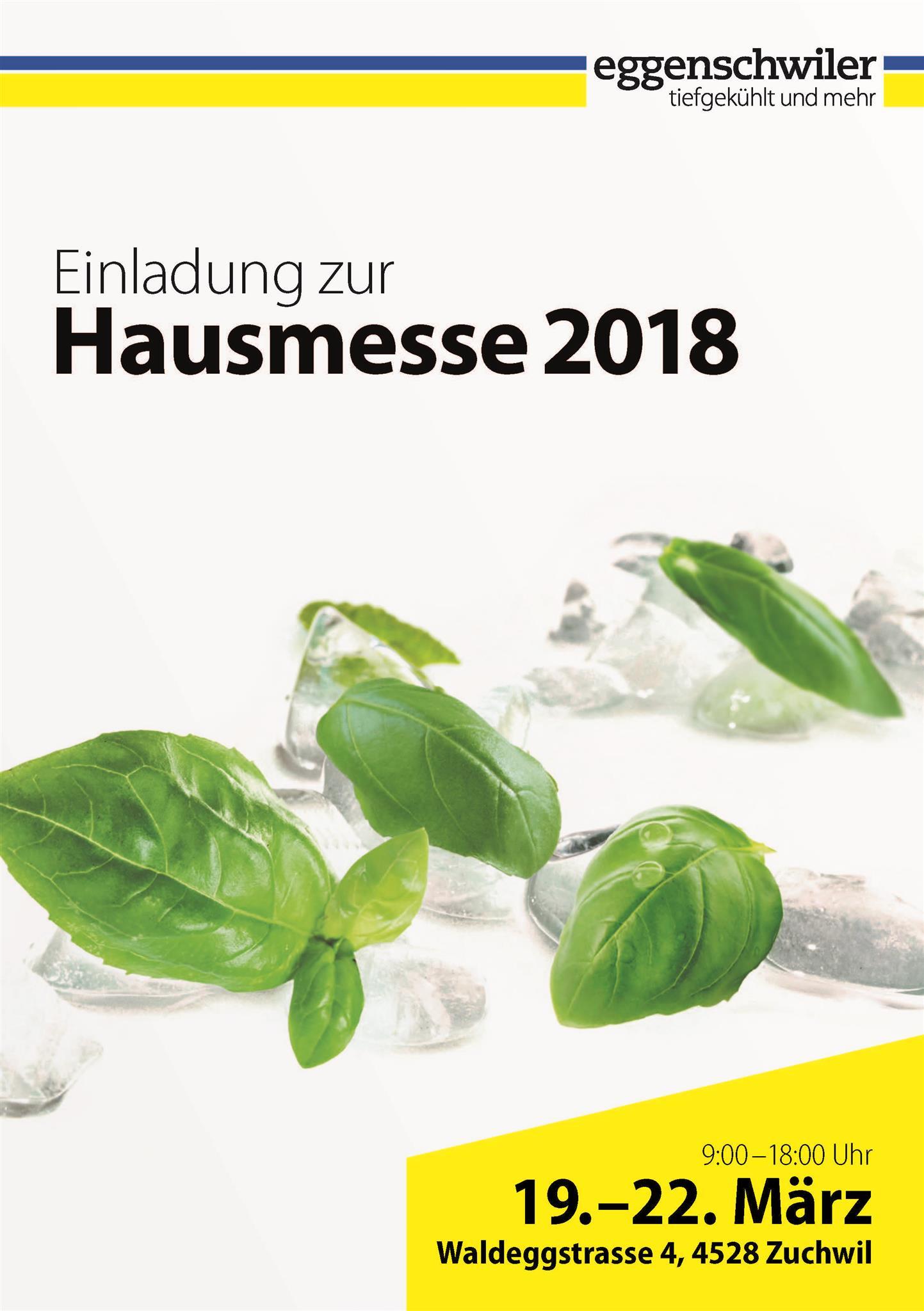 Eggenschwiler Hausmesse 2018